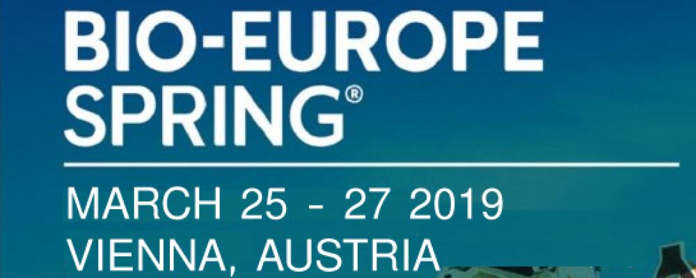 Bio-Europe Spring Vienna 25-27 Marzo 2019